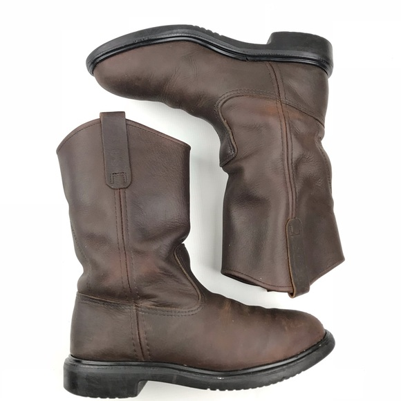 a426b37b7e5 Red Wing Pecos Steel Toe Pull On Work Boots 2259